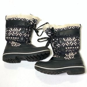 Girls Size 13 Wonder Nation Winter Snow Boots